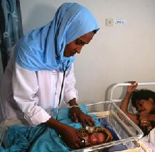 Nurse-midwife students at Edna Adan University Hospital in Somaliland help mothers and babies survive - and thrive.